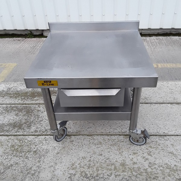 Used Bartlett B Line Stainless Steel Table Stand (7880)