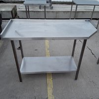 Used Stainless Steel Table (7882)