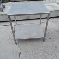 Used Stainless Steel Table (7883)