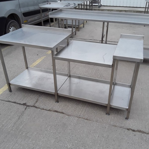 Used Stainless Steel Table Stand (7886)