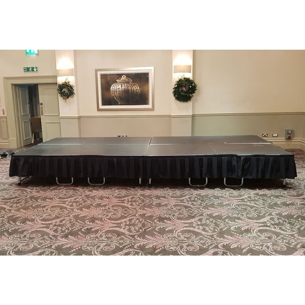 16ft x 8ft stage