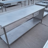 Used Stainless Steel Table (7890)