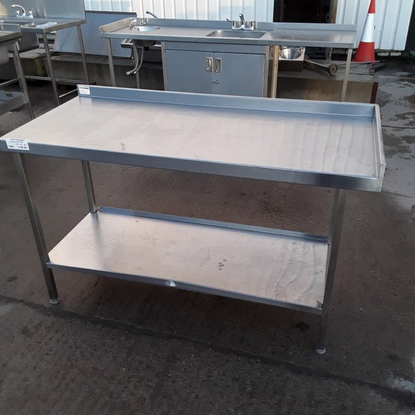Used Stainless Steel Table (7892)