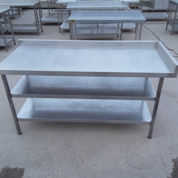 Used Stainless Steel Table (7894)