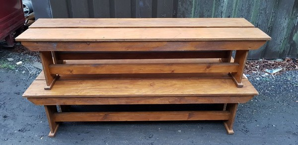 Secondhand benches