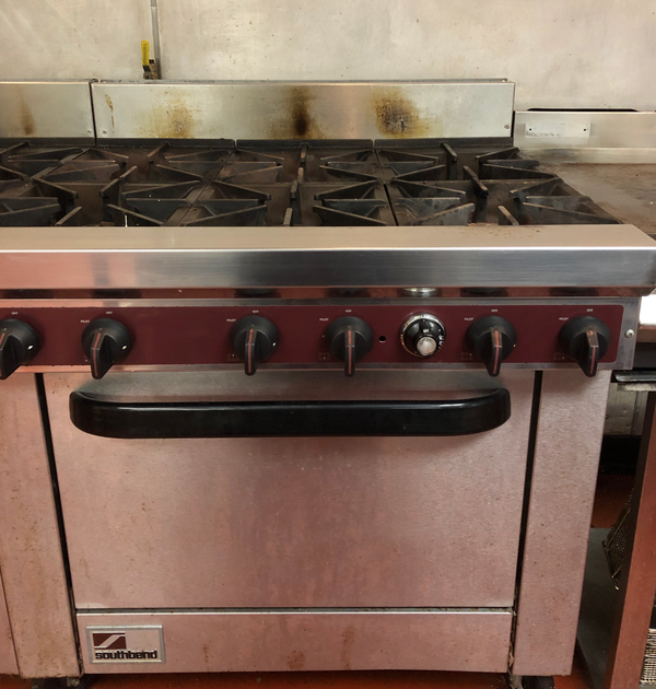 Gas range oven for sale