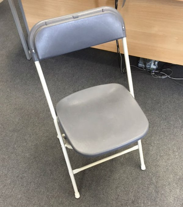 Grey Samsonite chairs for sale