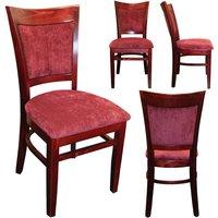 100 x New York Panel Wood Chair Frames