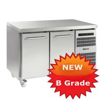 B Grade two door Prep fridge