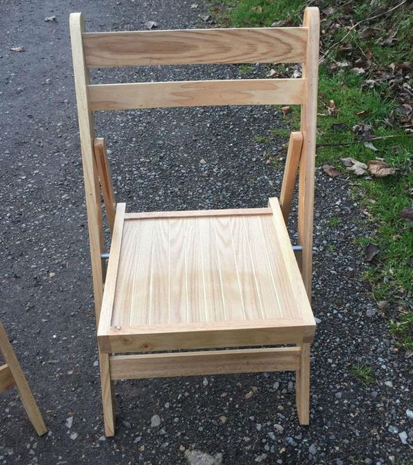 folding beech chairs