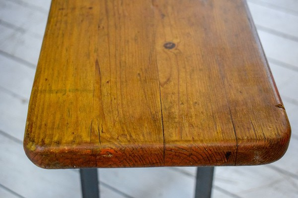 Vintage Pine Beer Trestle Tables and 2 Bench Sets