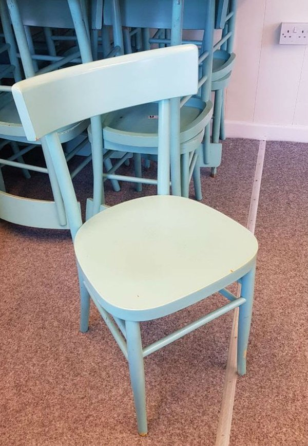 Blue zizzi chairs for sale