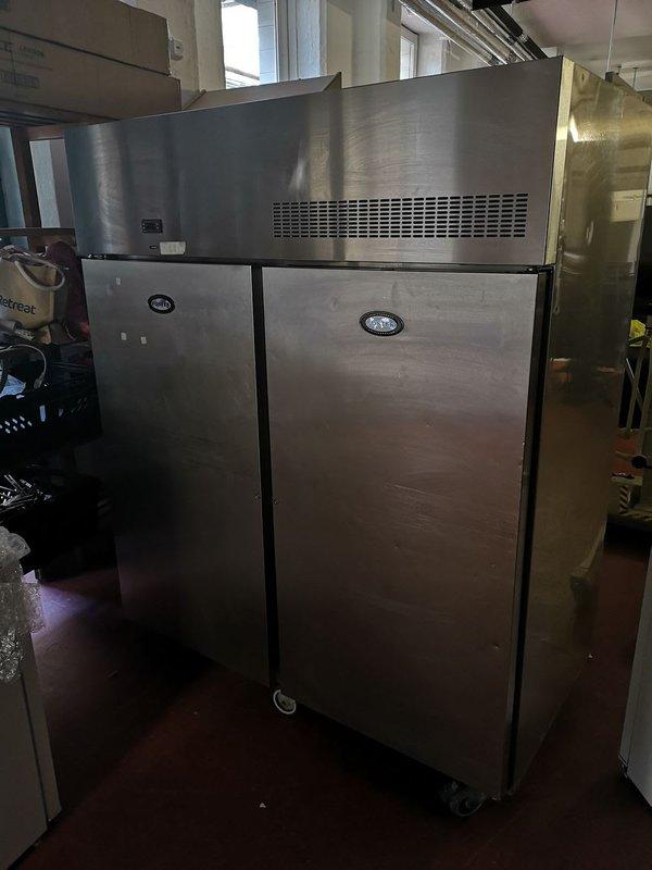 Fosters double door upright fridge