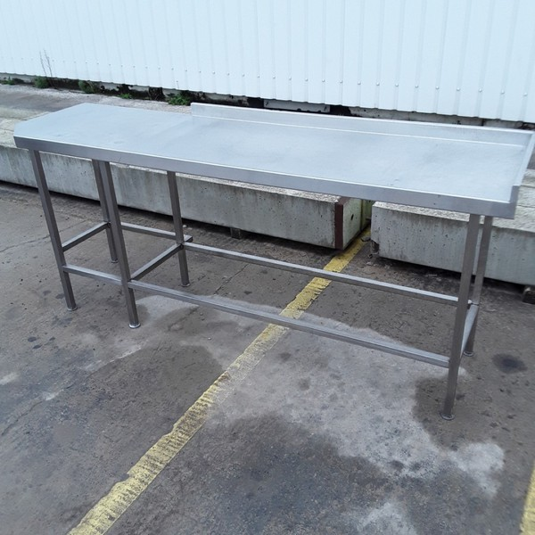 Used Stainless Steel Table (7906)