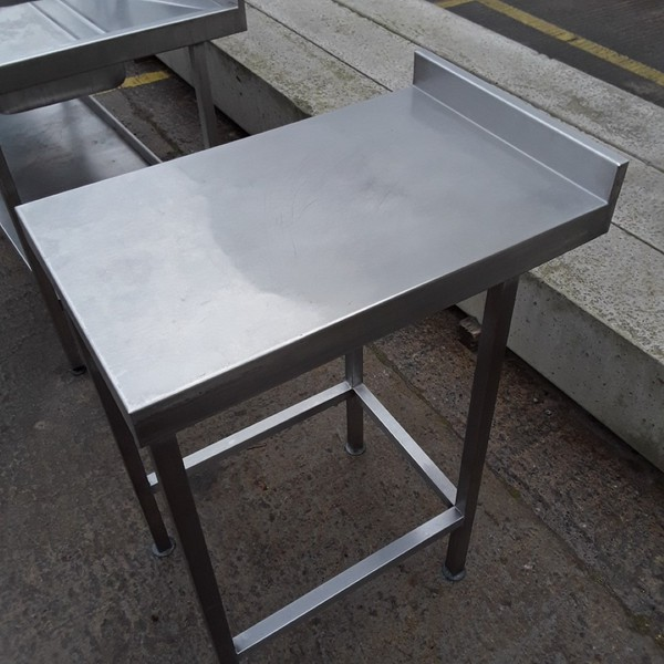 Used Stainless Steel Table 450mmW x 700mmD x 890mmH