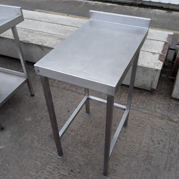 Used Stainless Steel Table 45cmW x 70cmD x 89cmH