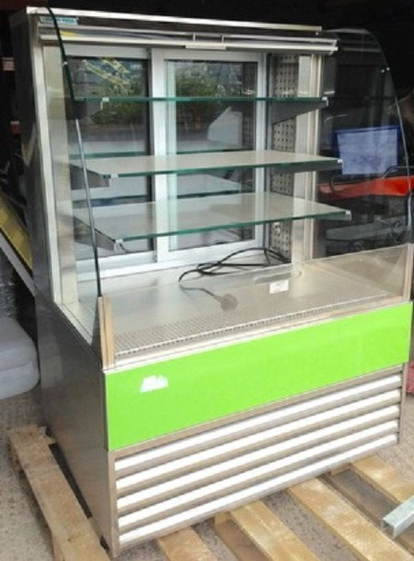 Multi deck glass fronted fridge