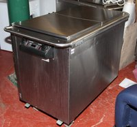 Victor Hot Cupboard & Bain Marie on wheels