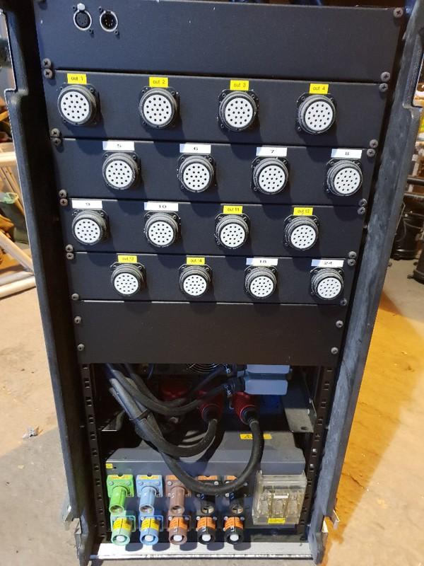 digital 48 channel dimmer rack