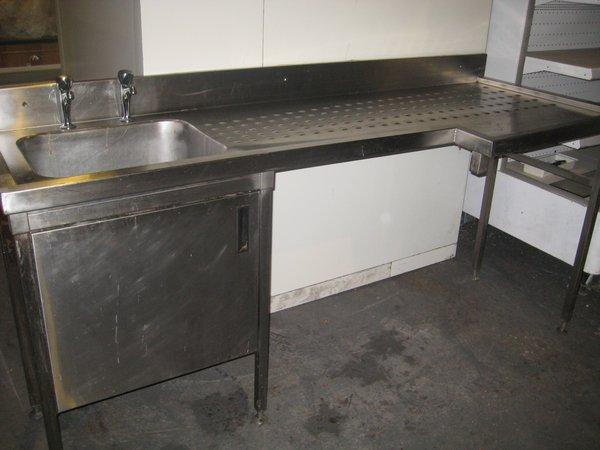 L Shaped Sink