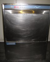 DIHR - DW124E 3 Phase Front Loading Commercial Dishwasher