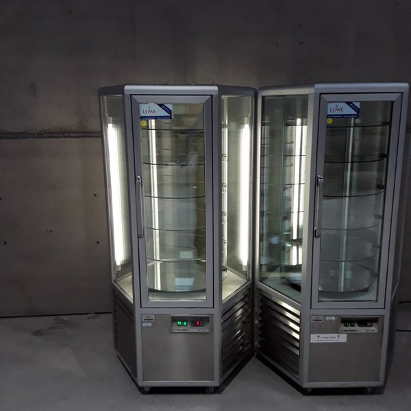 Used Techfrigo Snelle 600 R Rotating Cake Display	(7909)