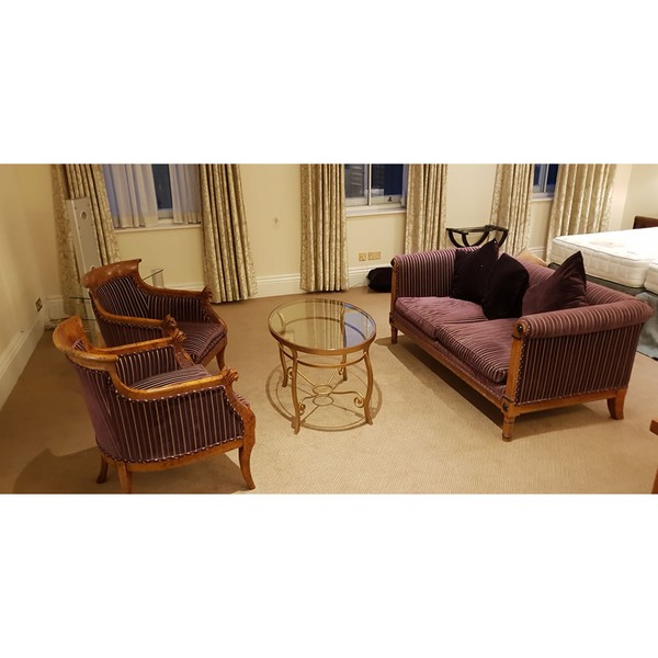 Ex hotel sofa set
