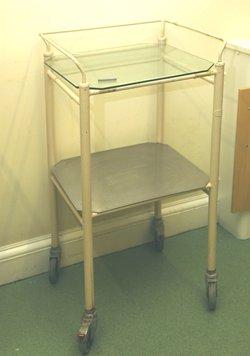 Medical trolley vintage style