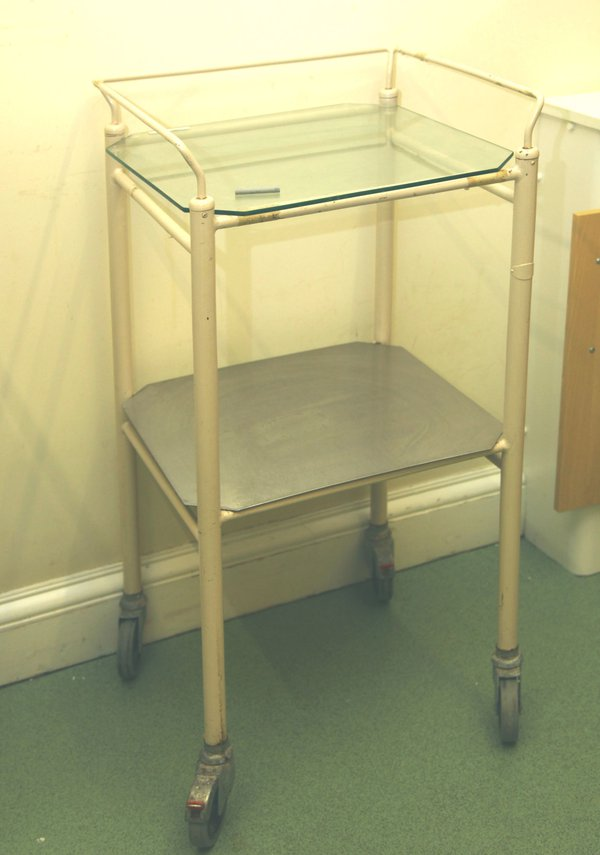 Medical trolley vintage style