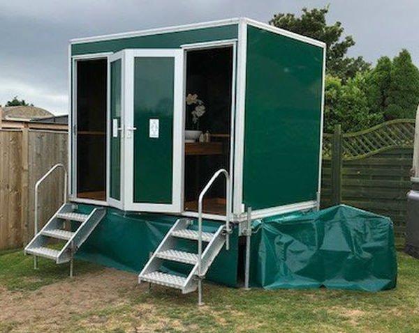 1 + 1 Luxury toilet trailer for sale