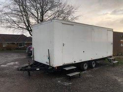 4 + 3 Toilet trailer for sale