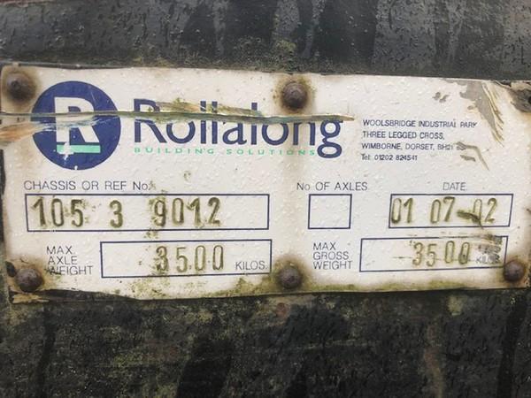 Rollalong toilet trailer