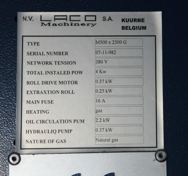 LACO M500 2.5m Iron