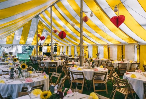 Complete Traditional Marquee with all equipment