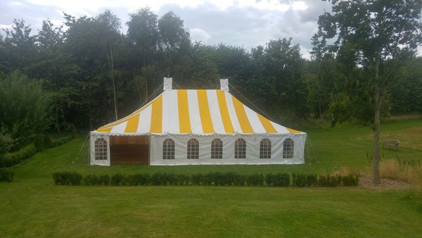 Vintage style Traditional Marquee equipment
