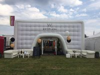 White inflatable marquee for sale