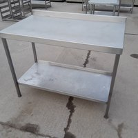 Used Stainless Steel Table (7917)
