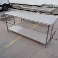 Used Stainless Steel Table (7914)