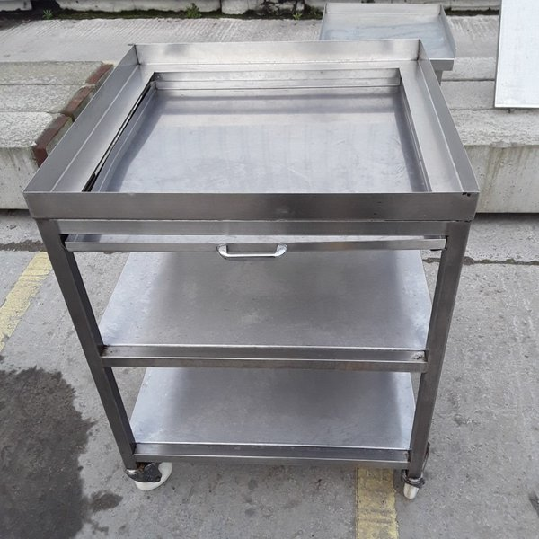 Used Stainless Steel Stand(7912)