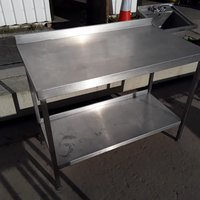 Used Stainless Steel Table (7926)