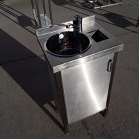 Used Stainless Steel Hand Sink (7924)