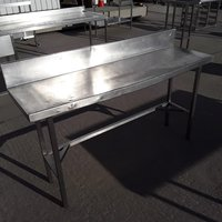 Used Stainless Steel Table (7923)