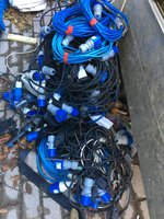Job Lot of Electrical Cables