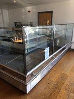 L shaped fridge for sale