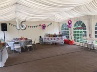 Dancover marquee lining