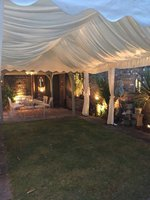 Small 4m framed marquee