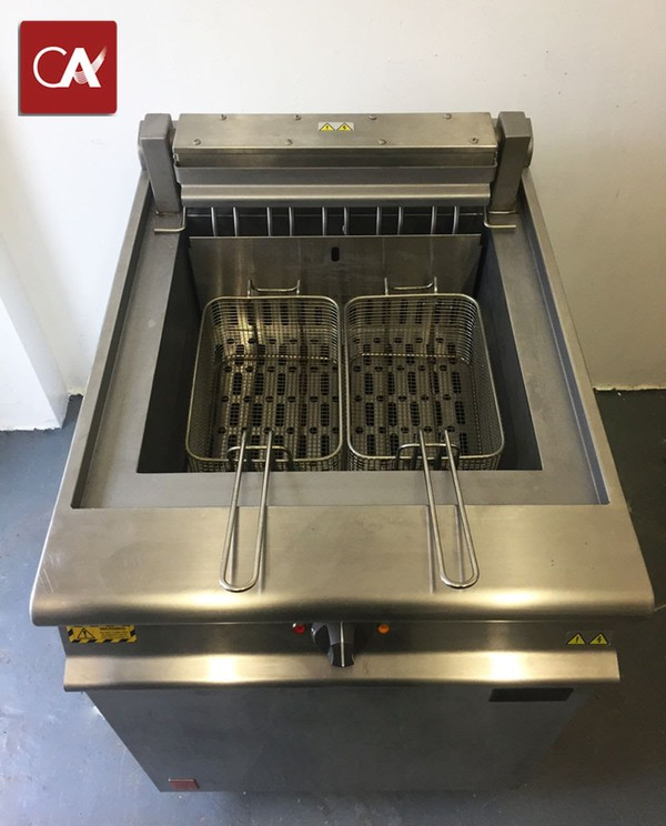 Falcon Dominator E3860 Double Fryer