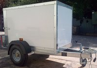 Tickner ECO Bespoke Size Box Trailer