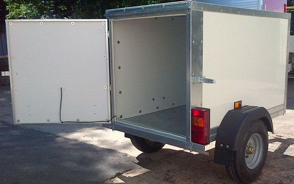 Custom made Tickner Trailer