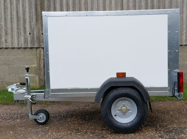 Custom Sized Box Trailer